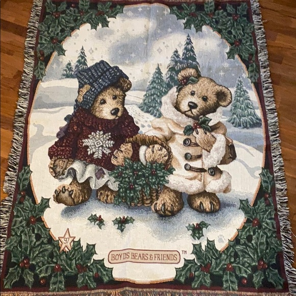 Boyd's Bears Throw blanket